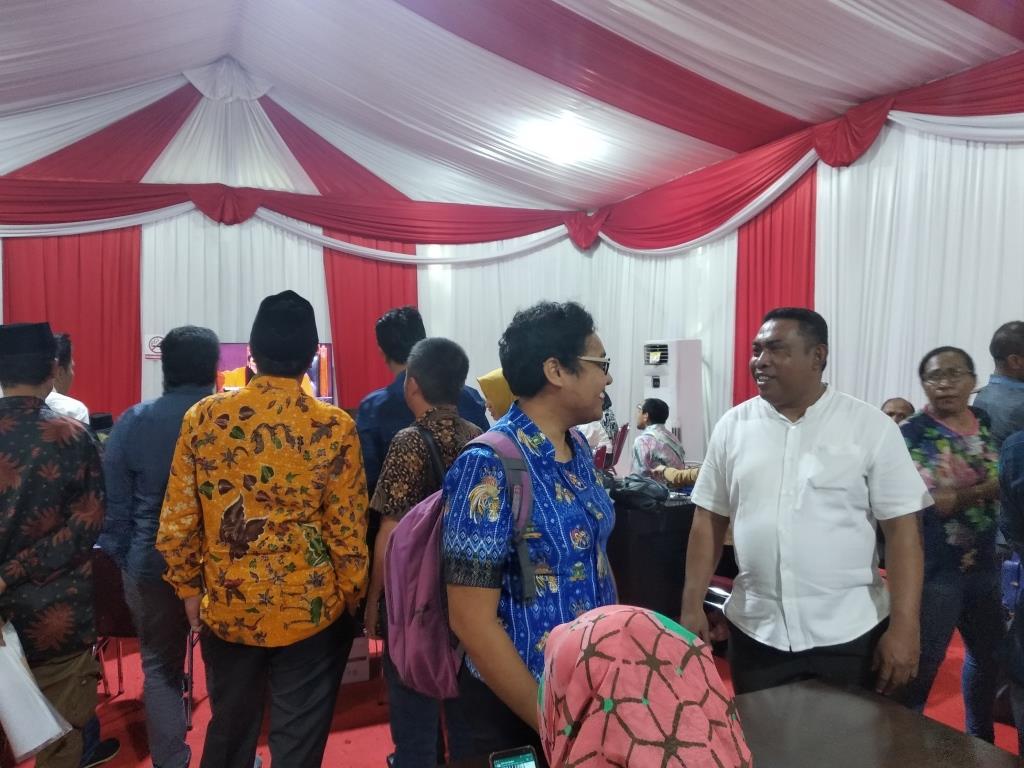 Sidang Pendahuluan PHPU Pileg DPRD Kabupaten Mappi di Mahkamah Konstitusi, Jakarta 9 Juli 2019